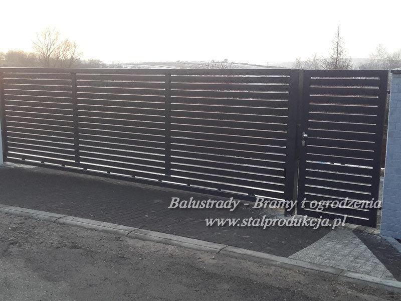 W superbly Ogrodzenia metalowe nowoczesne stalowe Kraków Małopolska Ślusarstwo DO89